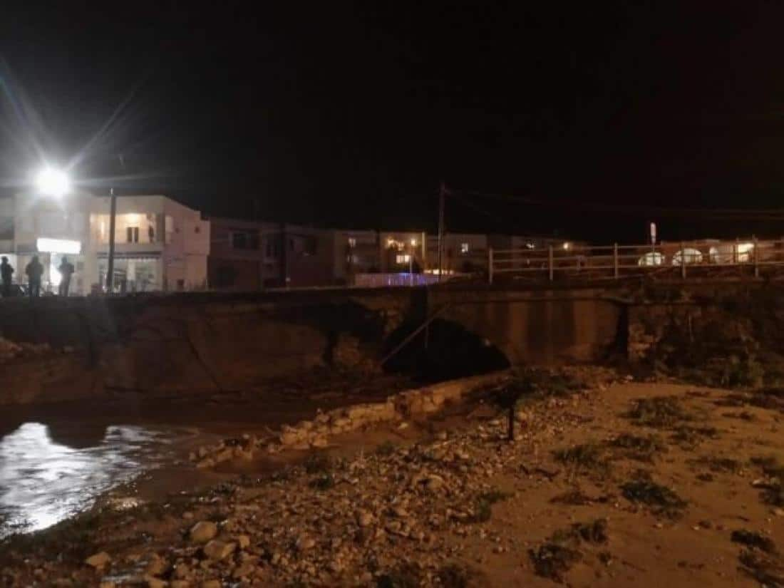 Biblical disaster in Crete - Another bridge has collapsed and