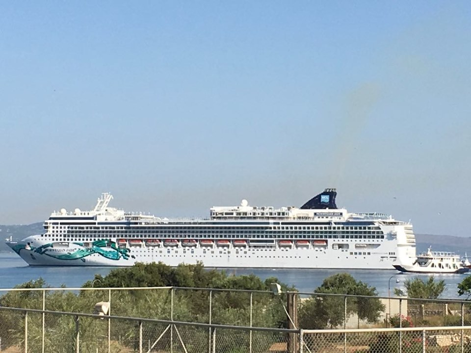 Another Two Cruise Ship Day In Argostoli Today The