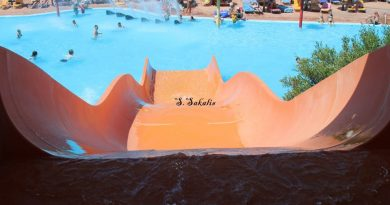 The water park in Lixouri