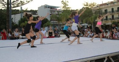 Reminder Gym Festival commences Today with opening Parade in Argostoli