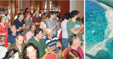 Zakynthos City CouncilMeeting and resolution on sewage