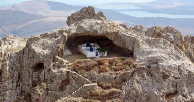 LIMNOS: The only church in the world with no roof