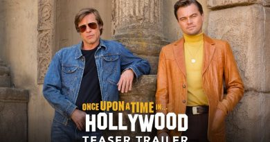 (12-18/09/19) – Once Upon a Time in  Hollywood showing at Ciny Anny 21:00