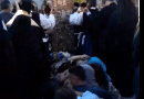 Gerasimos was moved from the small church to the big church earlier today (video)