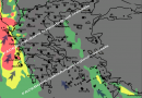 Possible short and sharp storm Sunday night into Monday