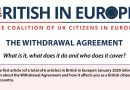 Brexit – The withdrawal Agreement – What does it cover?
