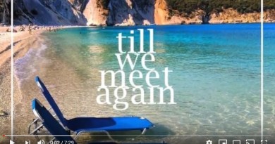 Stay safe till we meet again kefalonia (video)