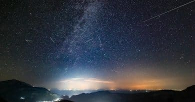 Perseids from Kefalonia – part 2 (Video)