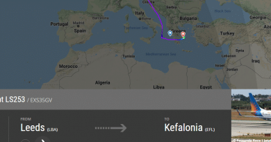 Another divert to Athens this morning