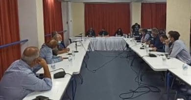 Intensity and interruption of the meeting of the Municipal Council of Sami. What was discussed.