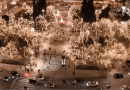 Impressive video: See the decorated Athens from a drone in the middle of a lockdown