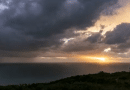 Time lapse of Kefalonia sunset and storm last night