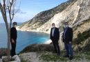 Panagis Kappatos (local MP): Inspection of the road to Myrtos – Temporary access may happen this Summer but only if is safe to do so!