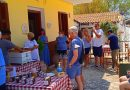 Kourouklata: First traditional Greek cooking lesson and village tour took place yesterday