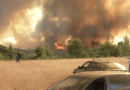 Varybobi: The flames in the first houses of Drosopigi – Message 112: Evacuate now to Athens