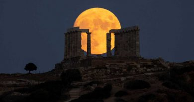 """August Full Moon: """"Enchanted"""" the full moon – Impressive images across Greece"""
