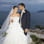 Kefalonia: Fairytale wedding in Fiskardo for a famous couple – The pictures uploaded by the bride